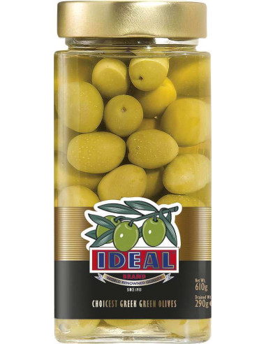 Green Olives TYPE Extra Jumbo Ideal 310gr